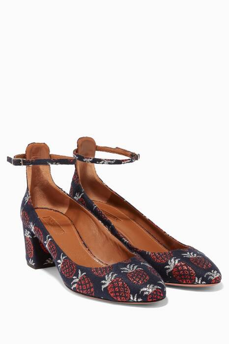 Ink Alix Jacquard Pumps