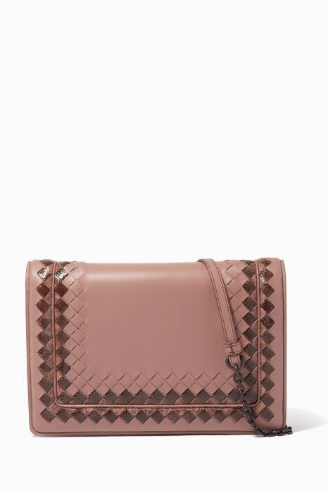 Glicine Nappa Shoulder Bag