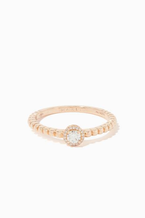 Rose-Gold Rock Candy Ring