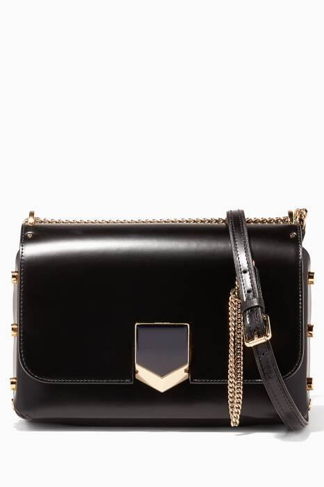 Gold Lockett City Shoulder Bag