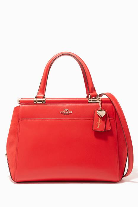 Red Coach X Selena Gomez Grace Bag