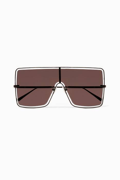 Black Blade 2 Oversized Sunglasses