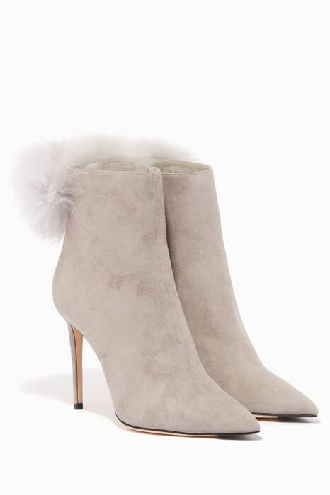 Moonstone Suede Tesler Booties