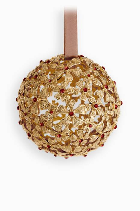 Gold Garland Ornament