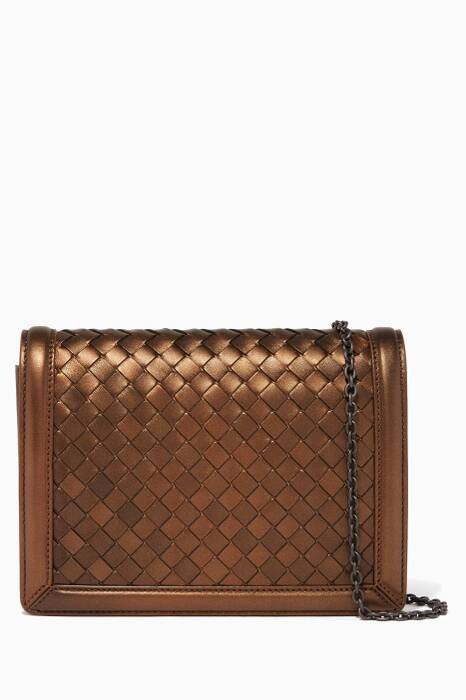 Dark-Gold Mini Montebello Clutch