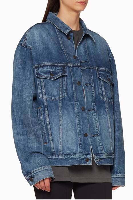 Blue Like A Man Denim Jacket