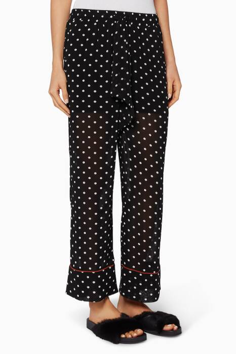 Polka-Dot Monette Pyjama Pants