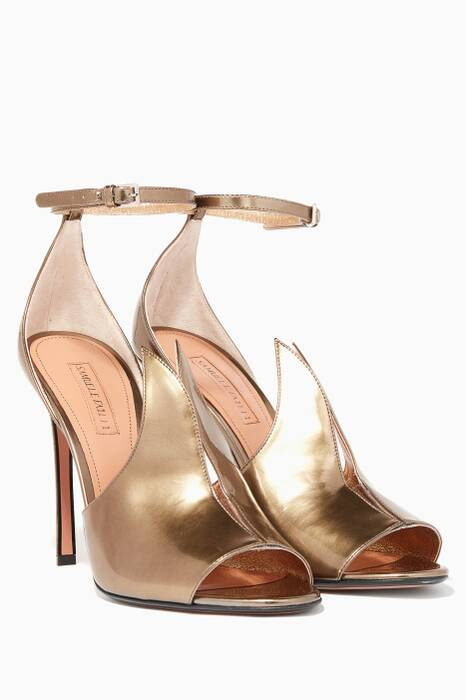 Metallic-Gold Bella Sandals