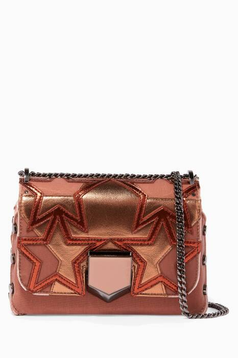 Blush Petite Lockett Studded Shoulder Bag