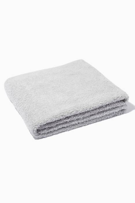 Silver Super Pile Hand Towel