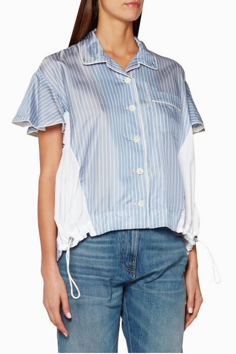 Light-Blue Striped Shirt