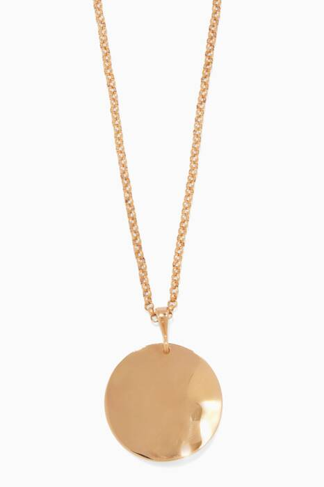 Gold-Plated Silver Wavee Necklace