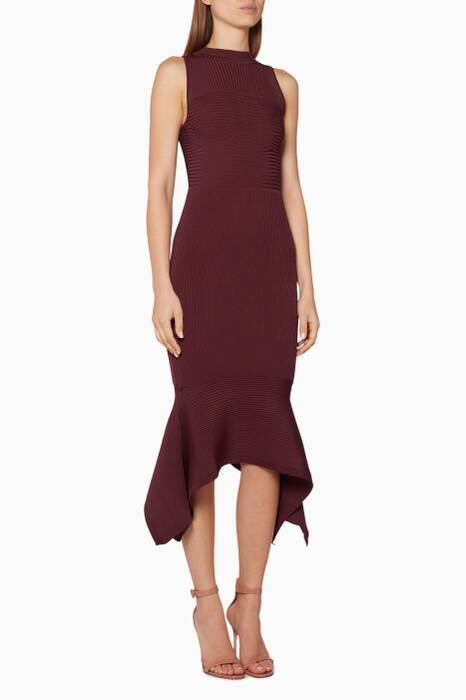 Currant Pencil Dress