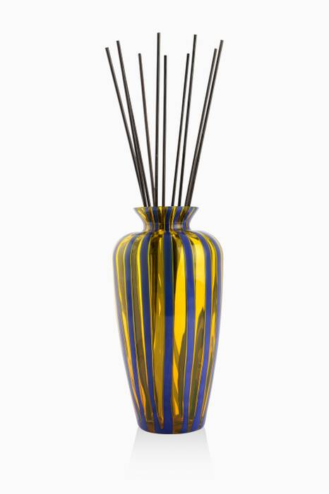 Yellow & Blue String Perfume Diffuser Vase