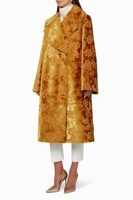 Gold Amaranta Coat