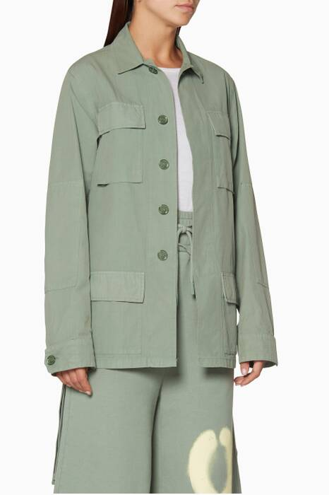 Mint Off Big Field Jacket