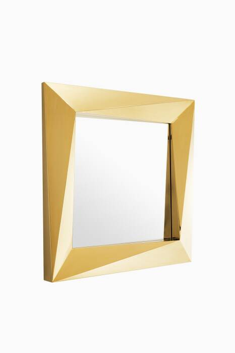Gold Rivoli Mirror