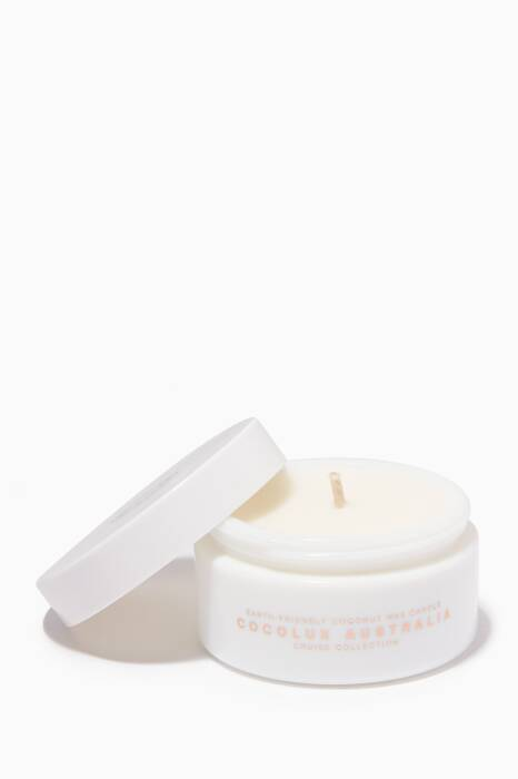 Coconut, Ginger & Pomelo Glass Candle, 100g