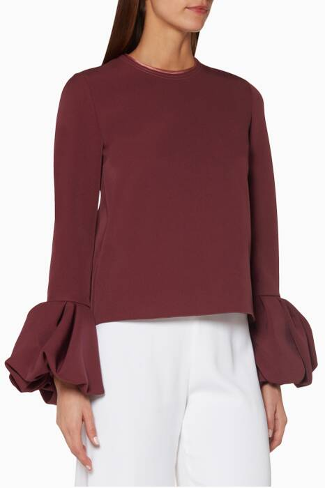Plum Arlo Top