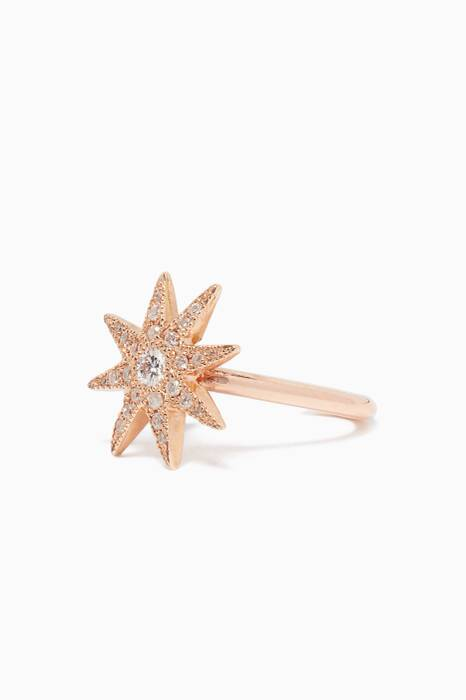 Rose-Gold & Diamond Twinkle Ear Cuff