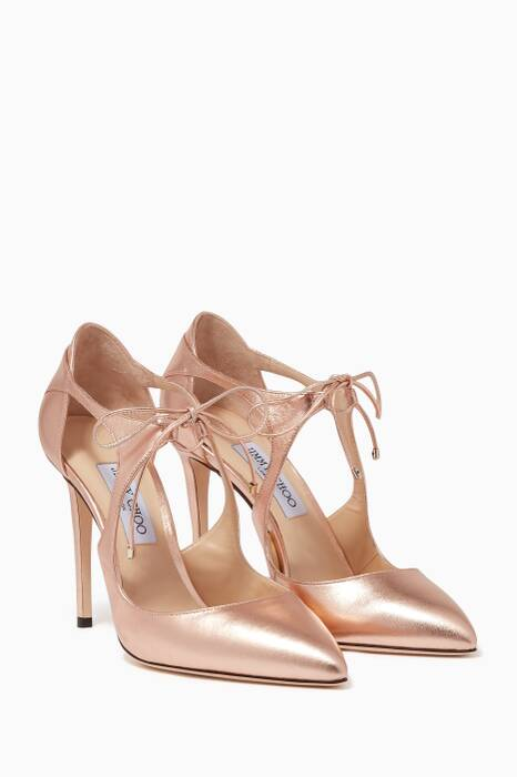 Rose-Gold Vanessa Sandals