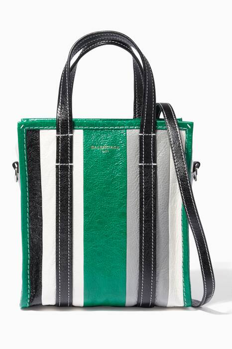 Multi-Colour Striped Arena Bazar Shopper Bag