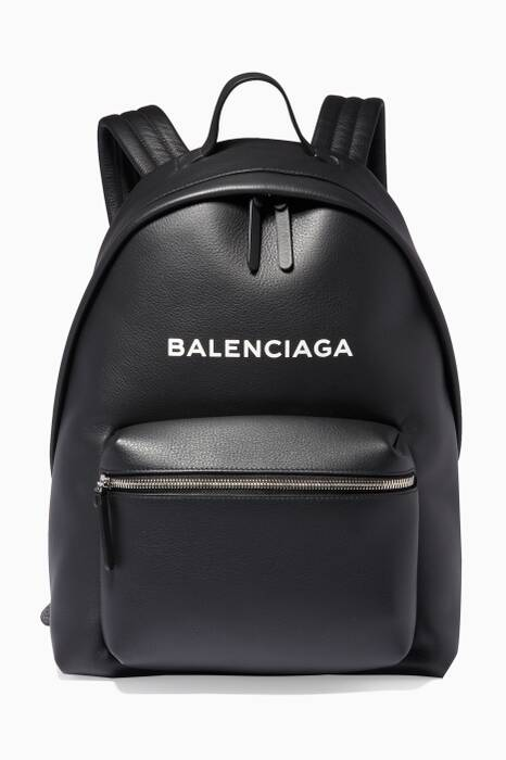 Noir Calfskin Everday Backpack