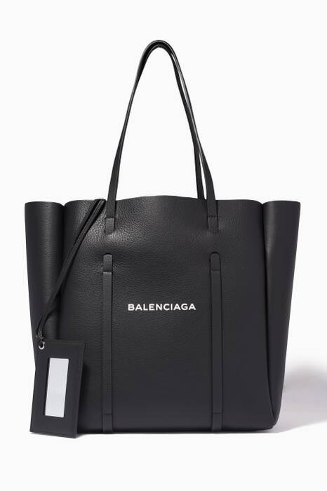 Black Small Everyday Tote Bag