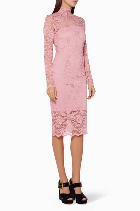 Pink Flynn Lace Dress