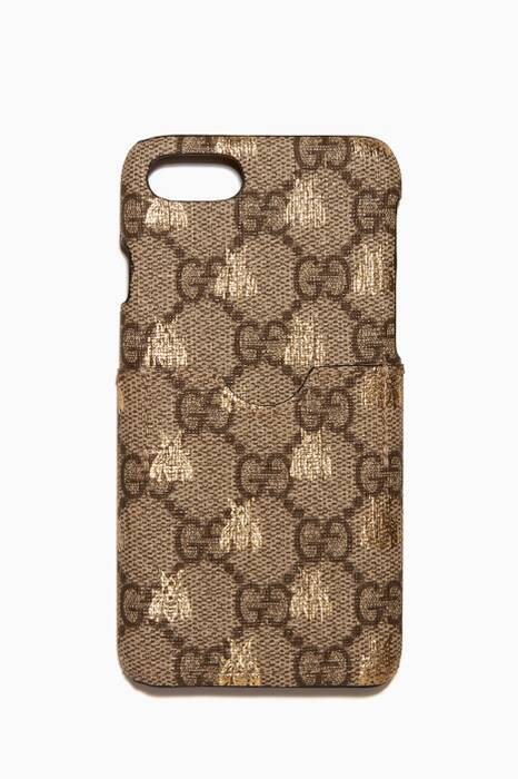 Brown GG Supreme Bees iPhone® 7 Case