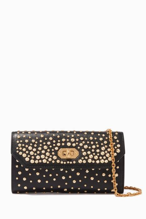 Black Box Studded Chain Wallet