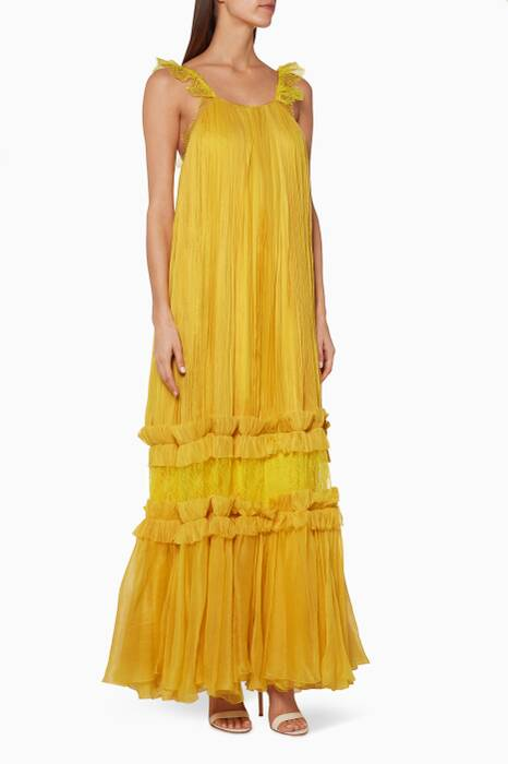 Yellow Felicia Gown