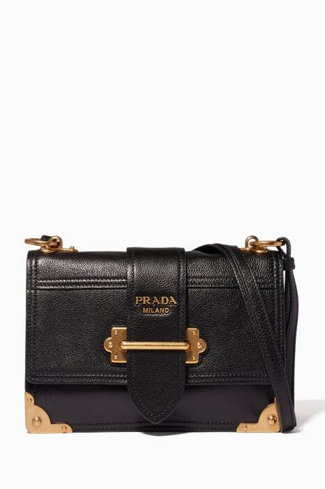 Black Cahier Shoulder Bag