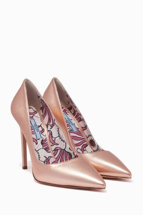 Rose Gold Jasmine Pumps