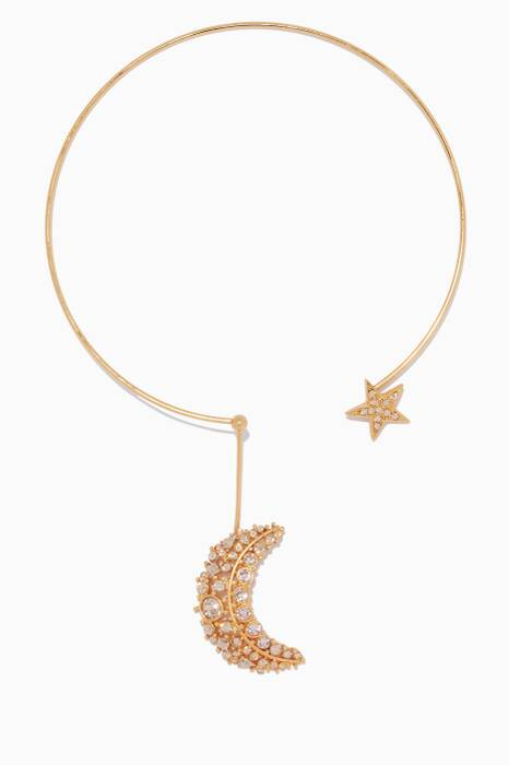 Gold Celestial Necklace