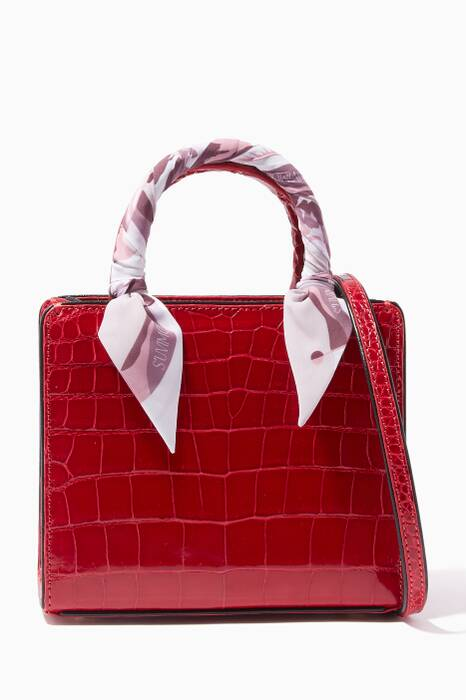 Dark-Red Crocodile My Sweet Box Baby Tote Bag