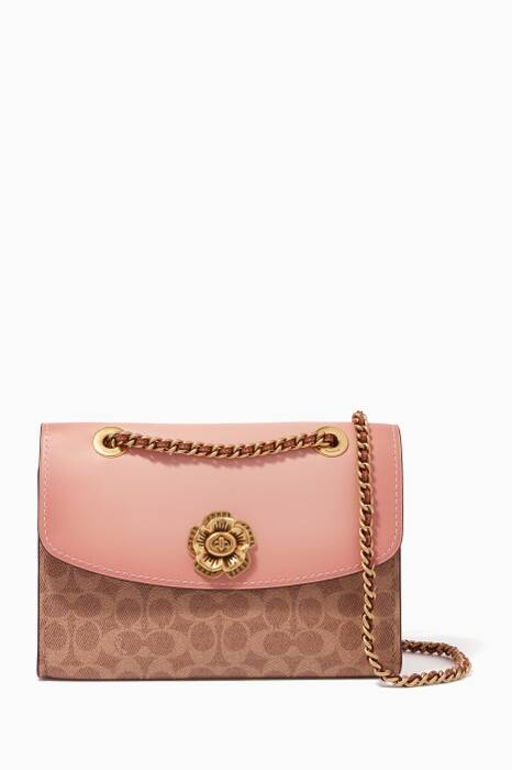 Peony Small Parker Shoulder Bag