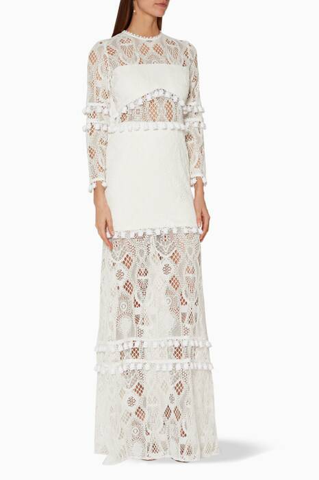 White Lace Thora Gown