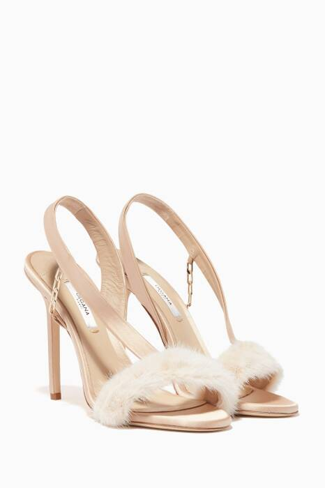 Light-Beige L'amazone Mink Sandals