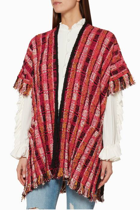 Multi-Coloured Bongo Poncho