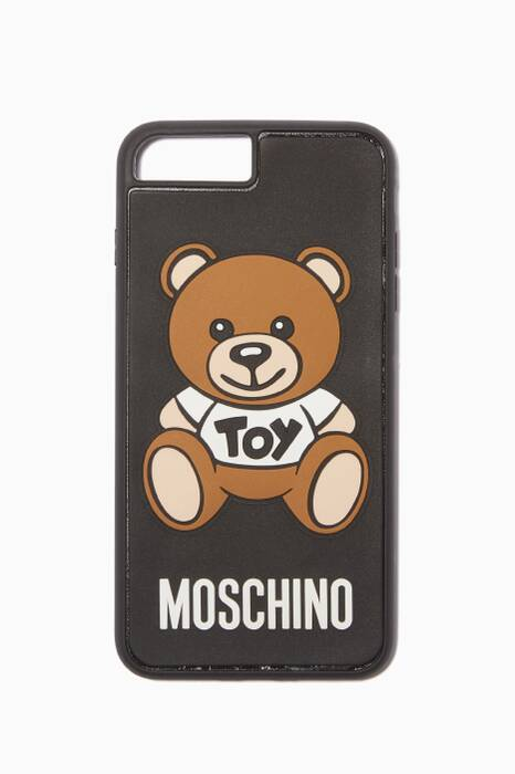Black Teddy Logo iPhone® 8 Plus Cover
