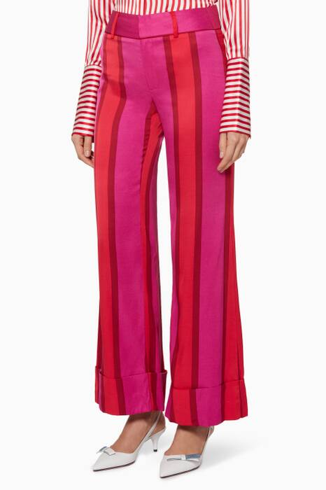 Pink Striped Endless Optimist Pants