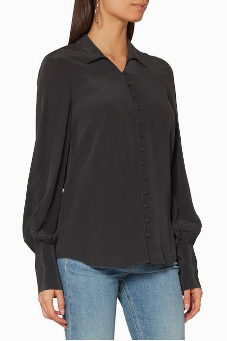 Dark-Grey Naomi Blouse