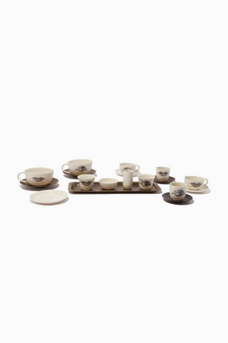 Mosaic Coffee Lovers Eye Lip Coffee Set