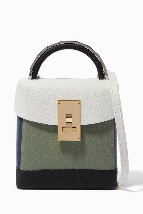 Multi-Colour Box Shoulder Bag