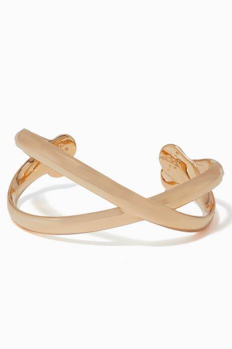 Gold Destinee Adjustable Cuff