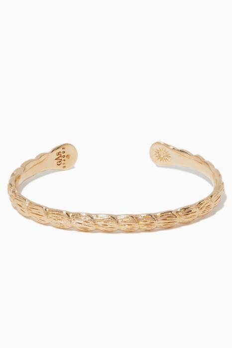 Gold Liane Bangle