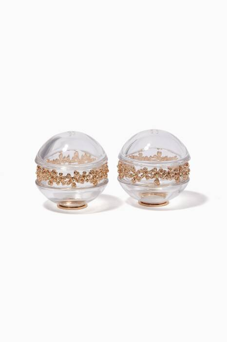 Gold Garland Salt & Pepper Shaker Set of Two