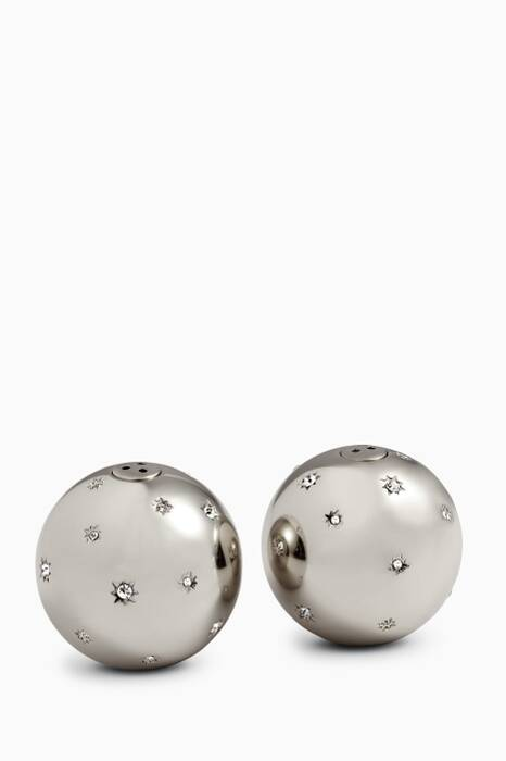 Platinum Stars Salt & Pepper Shaker