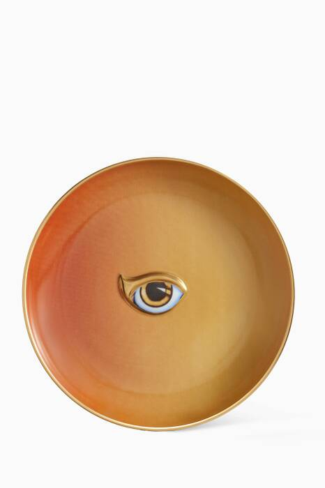 Orange & Yellow Lito Plate